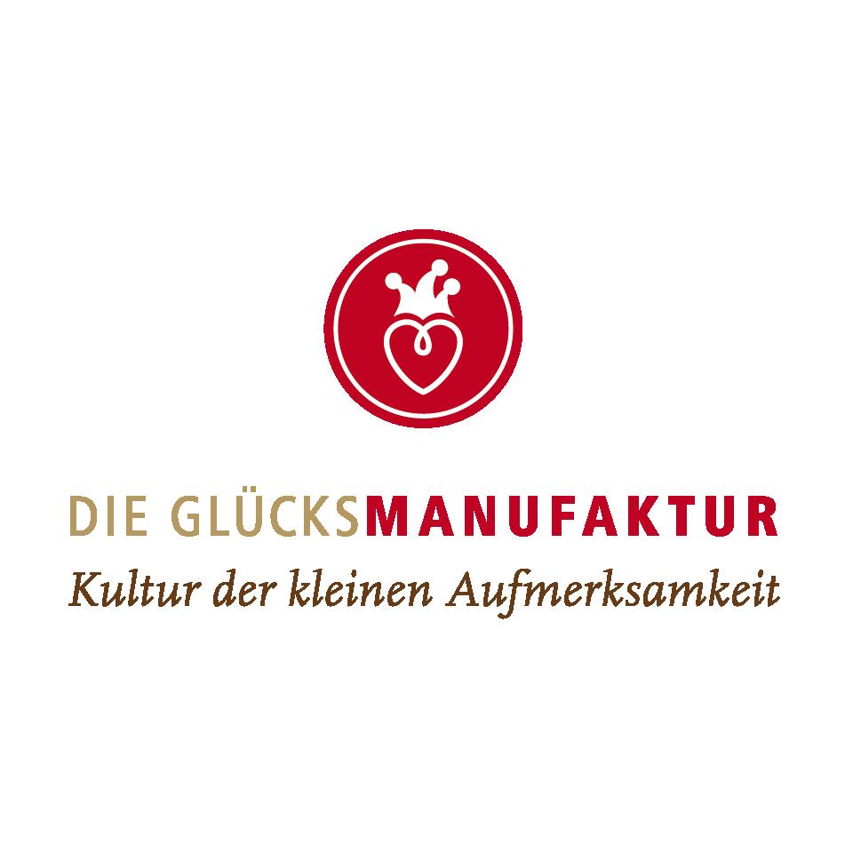 Logo DIE GLÜCKSMANUFAKTUR – Kultur der kleinen Aufmerksamkeiten