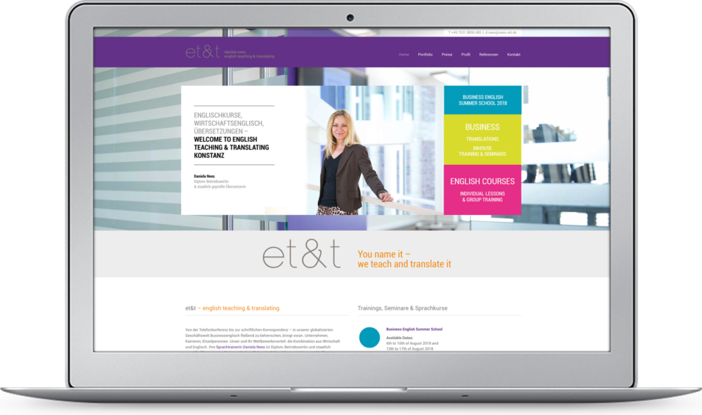 Homepage et&t Konstanz