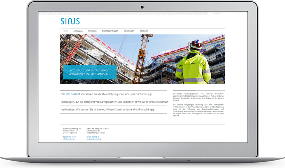 Webdesign SINUS – KOCHUNDSIMON