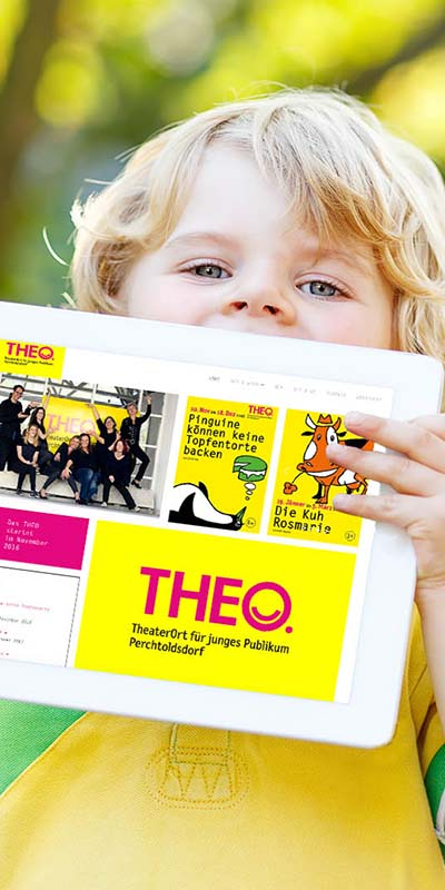 Responsive Webdesign TheaterOrt Wien