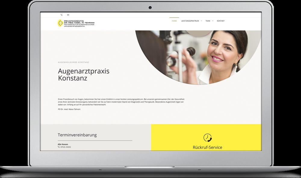 Augenarztpraxis Konstanz Kreativagentur KOCHUNDSIMON