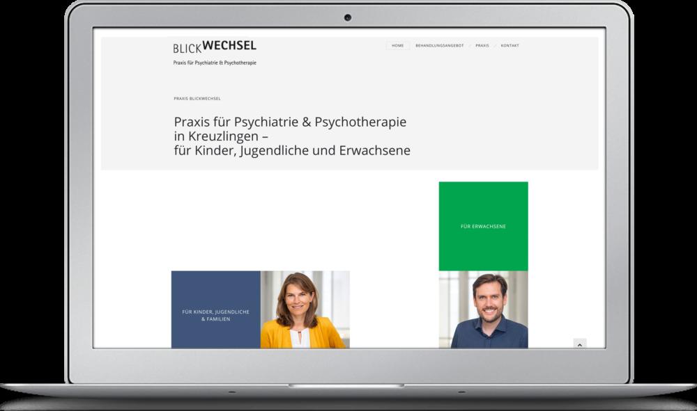 Homepage Praxis Blickwechsel Kreuzlingen