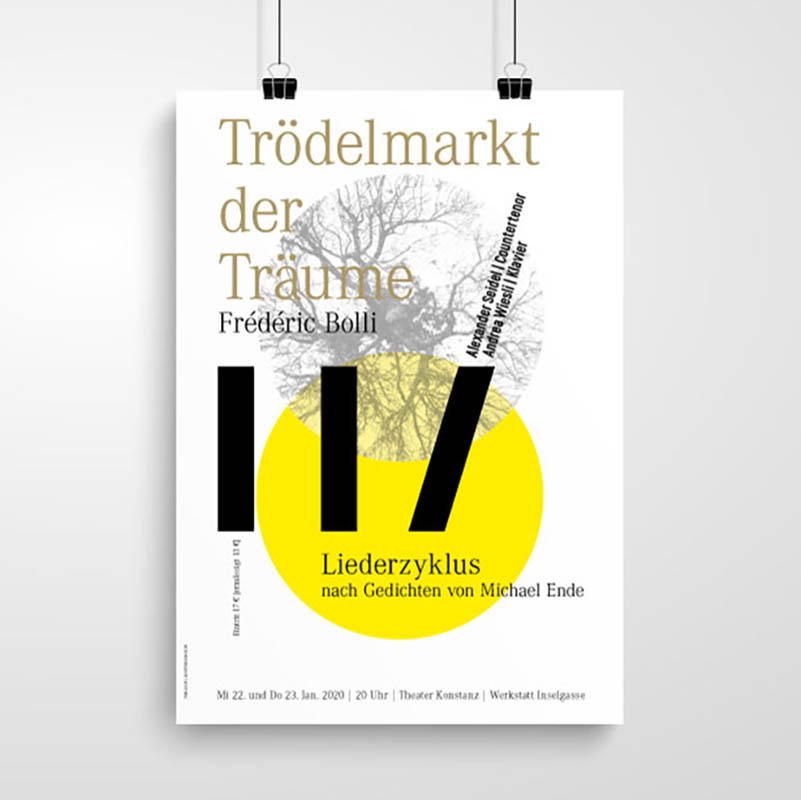 Plakat Frederik Bolli